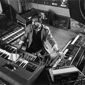Vangelis in studio